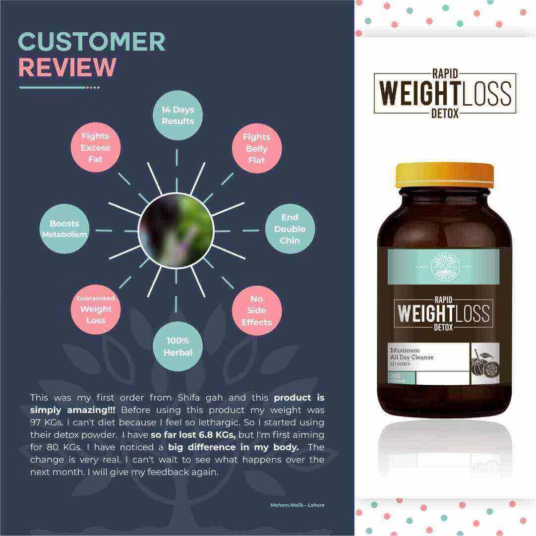 Shifa Gah Weight Loss Detox Powder